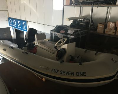Boat Mercury 340 + Engine Mercury 20CV – 3.700 €